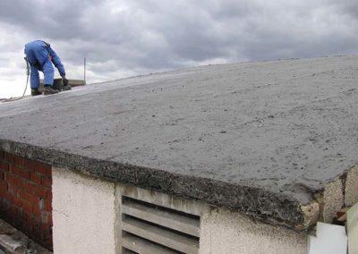 Abdichtungsarbeiten Dach
