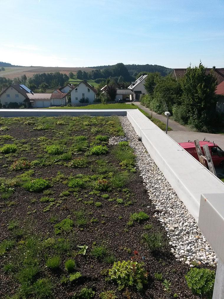 Flachdach von LW Bedachungen in Landshut