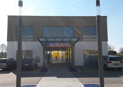 Sparda Bank mit Flachdach