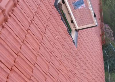 Sanierung Dach mit Dachfenster