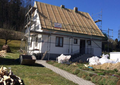 Sanierung komplettes Dach