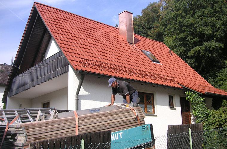 Sanierung in Landshut