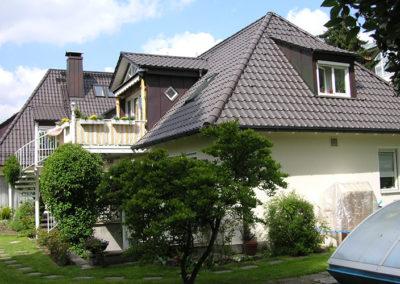 Einfamilienhaus mit Steildach