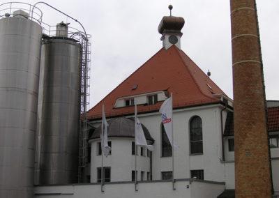 Steildach mit Turm