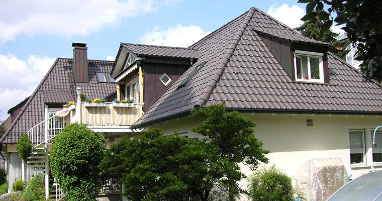 Steildach in Landshut